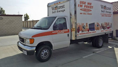 Woodcrest Self Storage Moving Truck